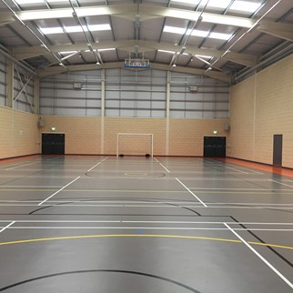 Acousta Tex Colinwell Acoustic Block- Allen Park Sports Hub, Antrim - Colour: Cream (2)