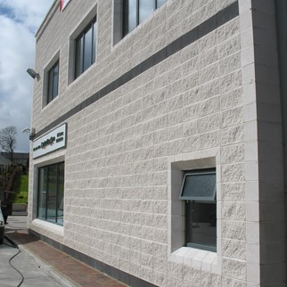 Commercial Building, Cavan Town - Smooth & Split Face - White & Whinstone.JPG